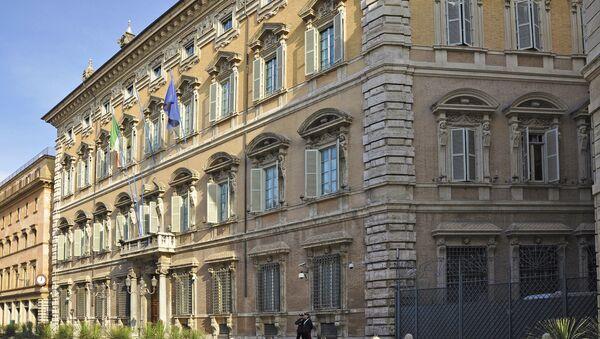 Palazzo Madama, la sede del Senato italiano - Sputnik Italia