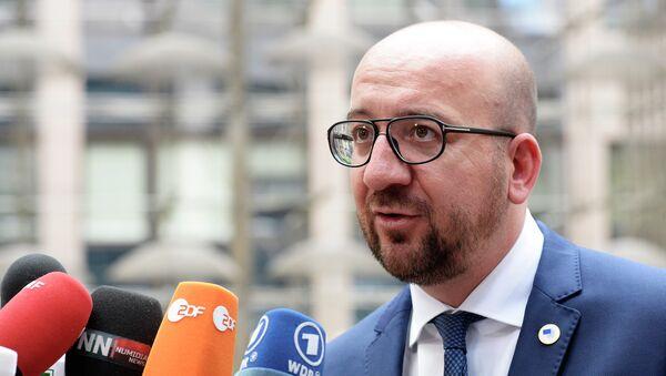 Charles Michel, primo ministro del Belgio - Sputnik Italia