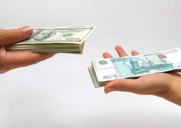 Rubli e dollari USA