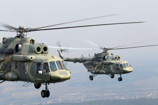 Aerei ed elicotteri da combattimento della Russia - Sputnik Italia