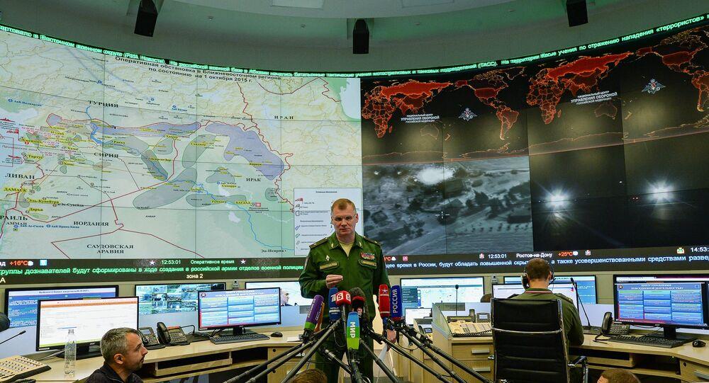 Briefing del generale Igor Konashenkov