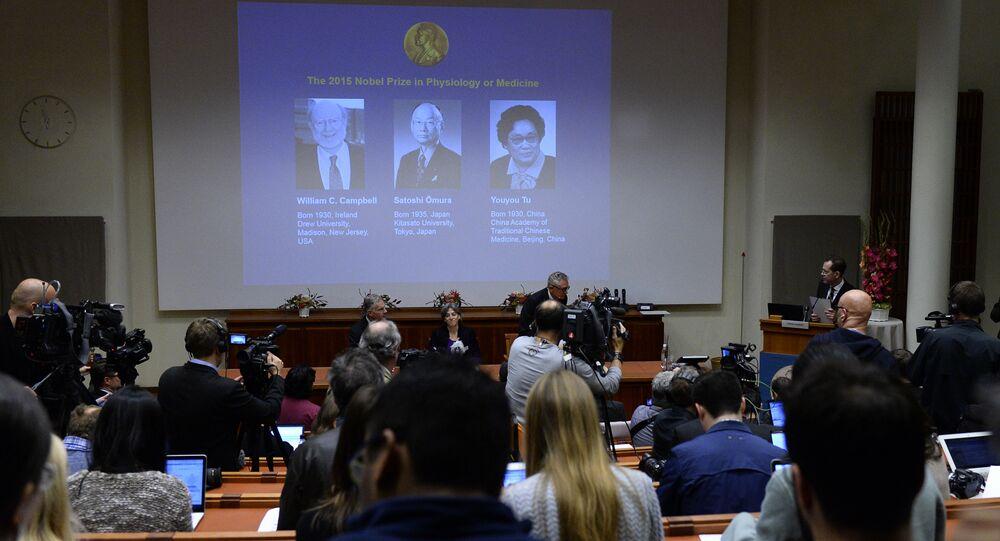 Vincitori del premio Nobel per la medicina 2015