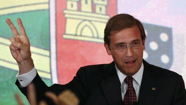 Passos Coelho, il premier del Portogallo - Sputnik Italia