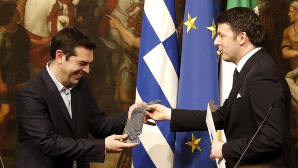 Greek Prime Minister Alexis Tsipras - Sputnik Italia