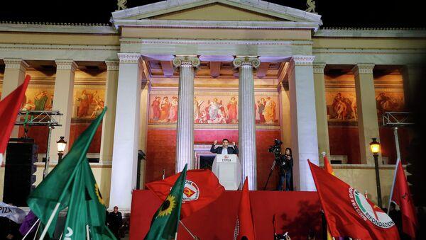 Alexis Tsipras, líder de Syriza - Sputnik Italia