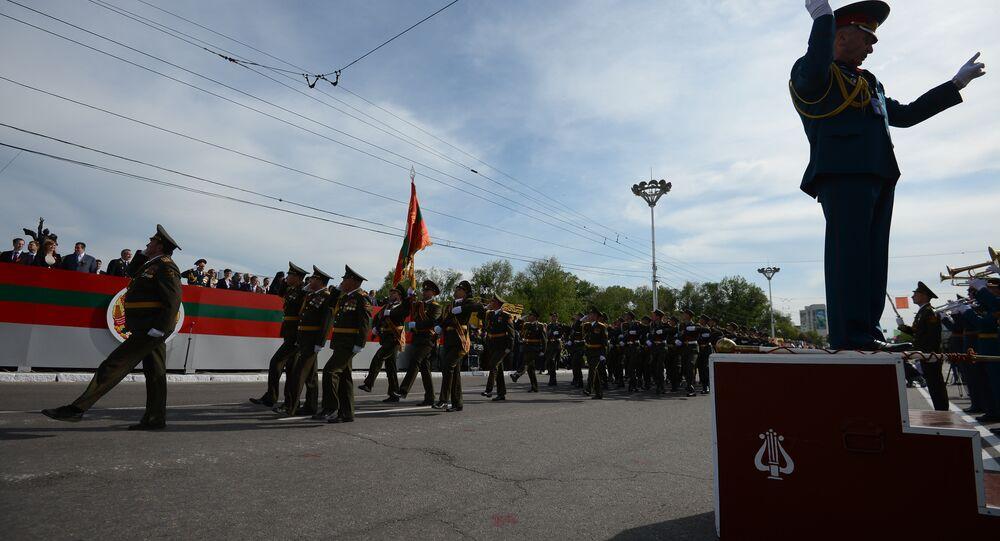 Tiraspol, capitale della Transnistria: festeggiamenti del Giorno della Vittoria