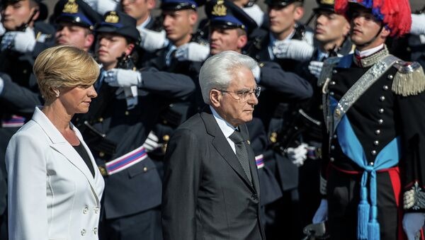 Il presidente italiano Sergio Mattarella - Sputnik Italia
