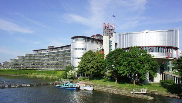 La Corte Europea dei Diritti dell'Uomo a Strasburgo. - Sputnik Italia