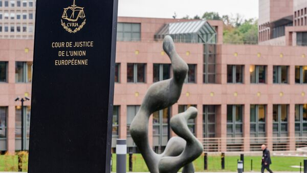 La Corte di giustizia dell'Unione europea - Sputnik Italia