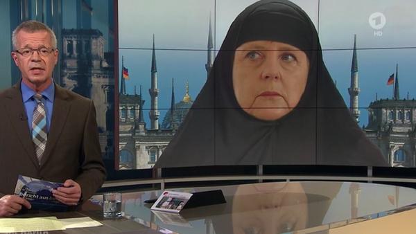 Screenshot dal programma Bericht aus Berlin del 04.10.2015 - Sputnik Italia