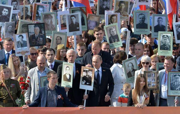 Vladimir Putin in un anno di foto - Sputnik Italia