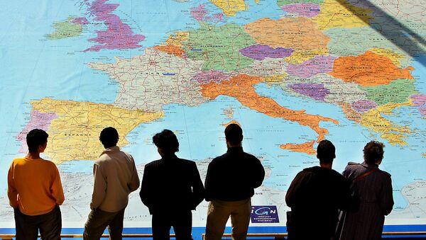 Mappa dell'Europa - Sputnik Italia