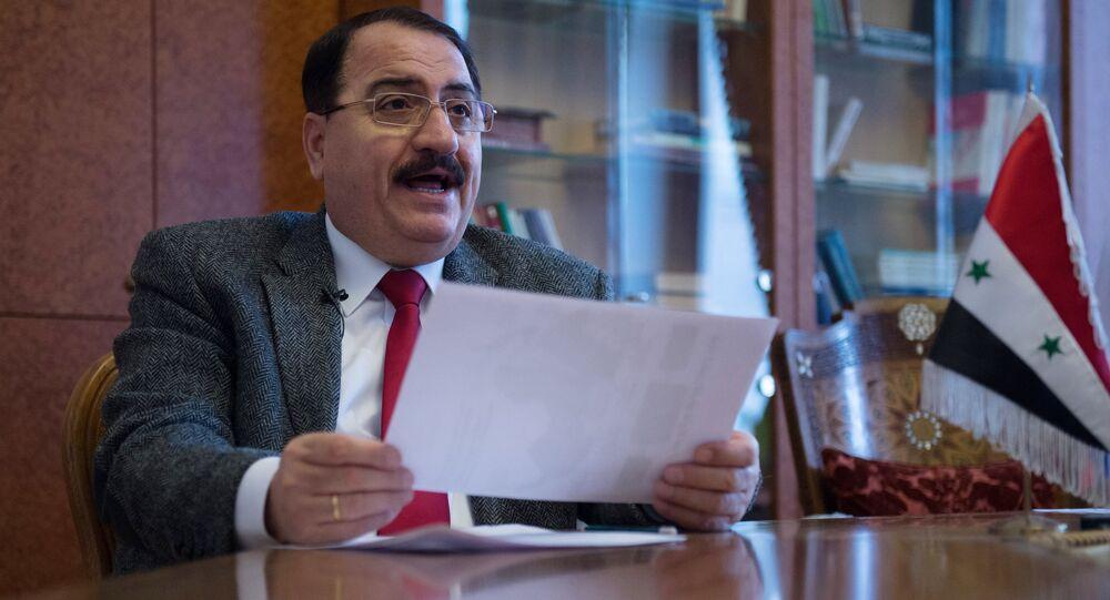 Riyad Haddad, ambasciatore della Siria in Russia