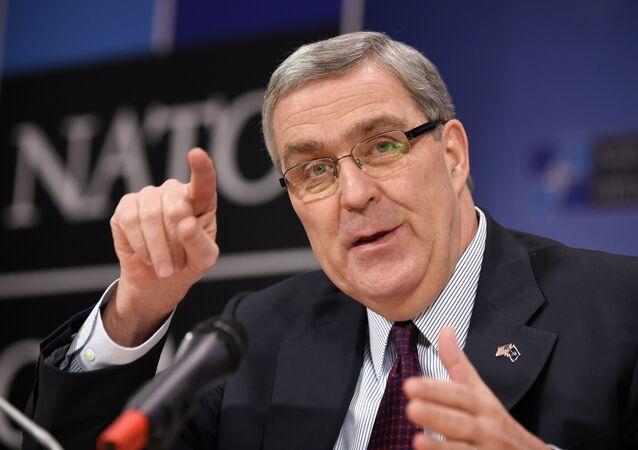 Douglas Lute ambasciatore degli USA presso la NATO (foto d'archivio)