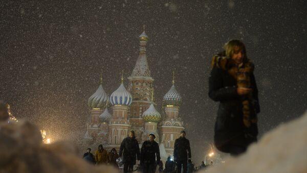 Snowing in Moscow - Sputnik Italia