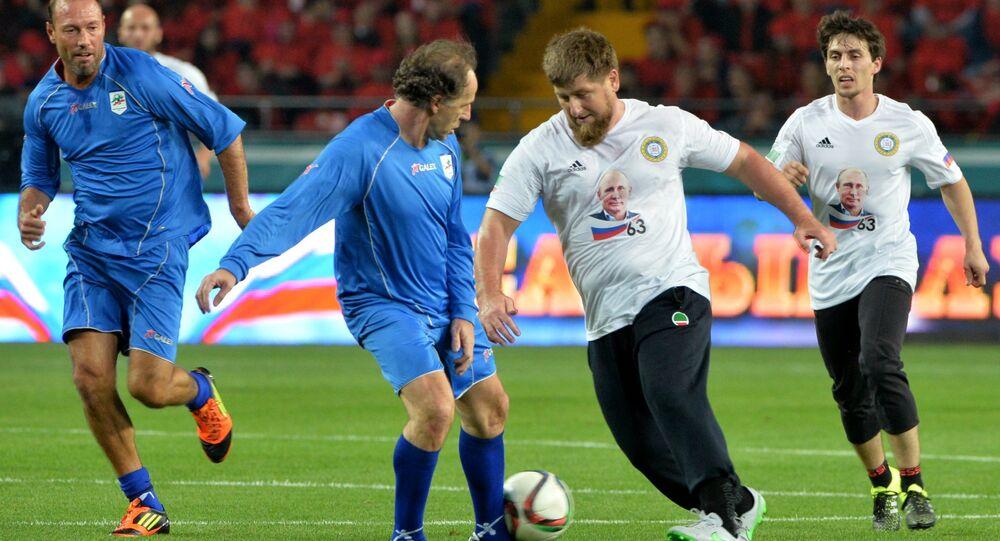 Ramzan Kadyrov salta Franco Baresi