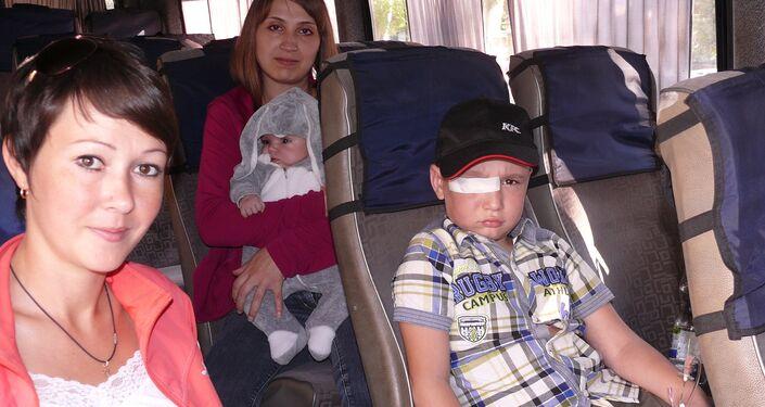 Bambini feriti