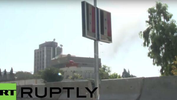 Video dell'attacco all'ambasciata russa di Damasco - Sputnik Italia