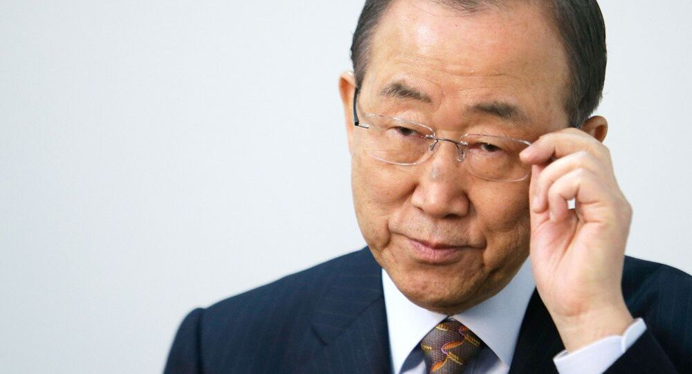 Segretario generale ONU Ban Ki-moon