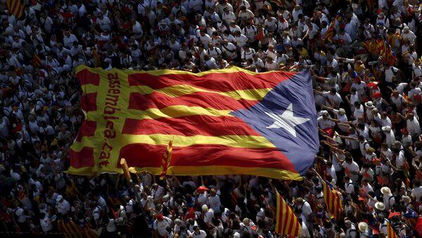 Manifestazione indipendentista in Catalogna - Sputnik Italia