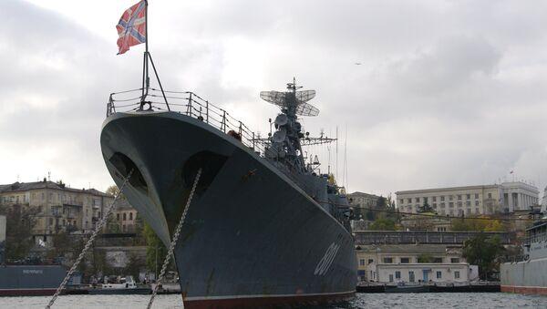 La fregata Ladny a Sebastopoli - Sputnik Italia