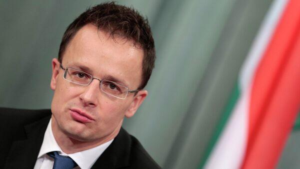 Il ministro degli Esteri ungherese - Sputnik Italia