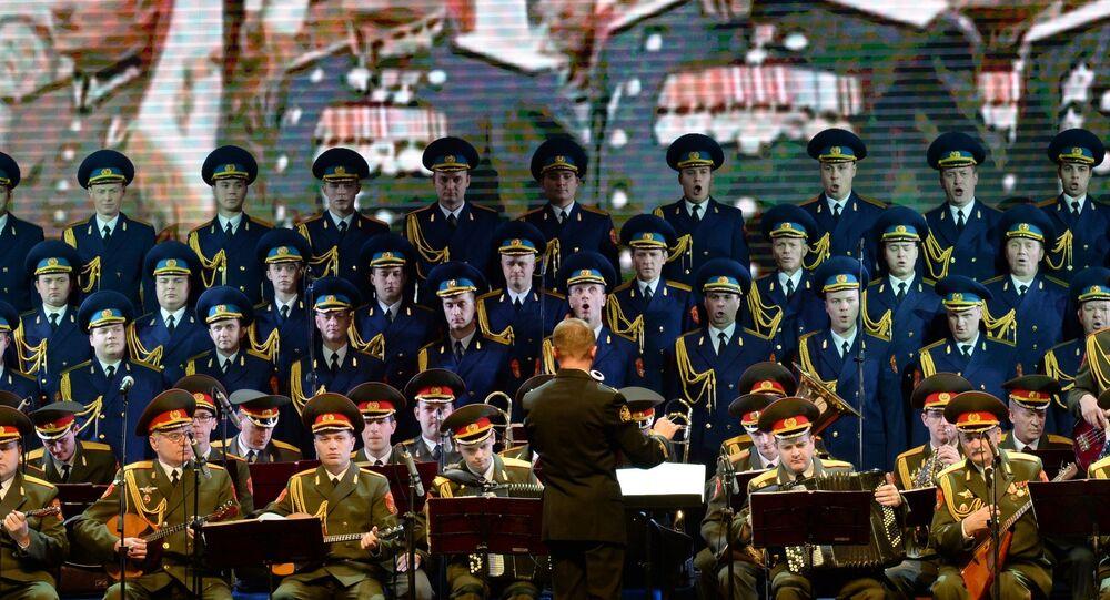 Coro dell'Armata Rossa (foto d'archivio)