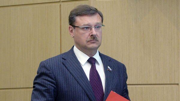 Председатель Комитета Совета Федерации по международным делам Константин Косачев - Sputnik Italia
