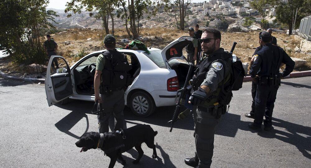 Polizia in Palestina