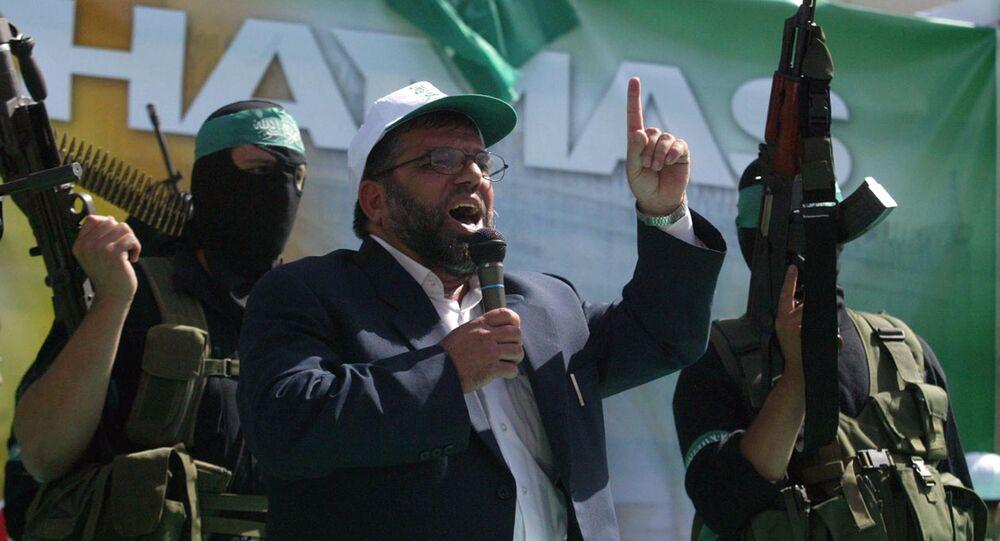 Sheikh Hassan Yousef, considerato uno dei leader di Hamas