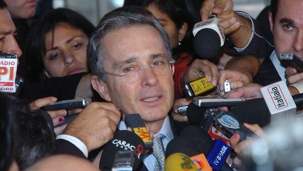 Alvaro Uribe Velez, Presidente della Colombia in carica dal 2002 al 2010. - Sputnik Italia