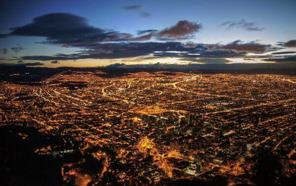 Il panorama di Santa Fé de Bogotá. - Sputnik Italia