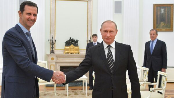 Bashar Assad e Vladimir Putin al Cremlino - Sputnik Italia