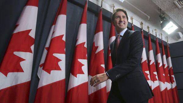 Il primo ministro canadese Justin Trudeau - Sputnik Italia