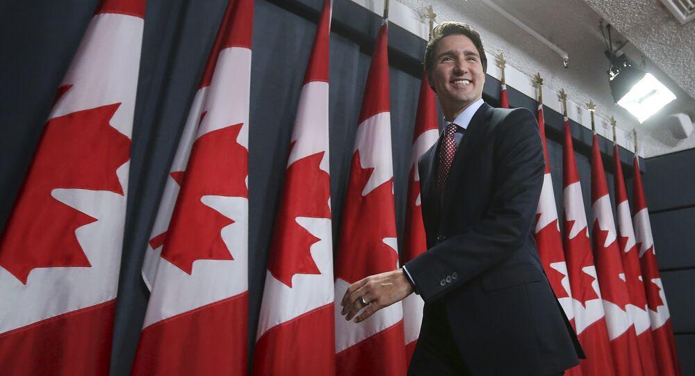 Il primo ministro canadese Justin Trudeau
