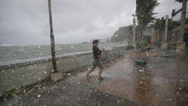 Tifone alle Filippine  - Sputnik Italia
