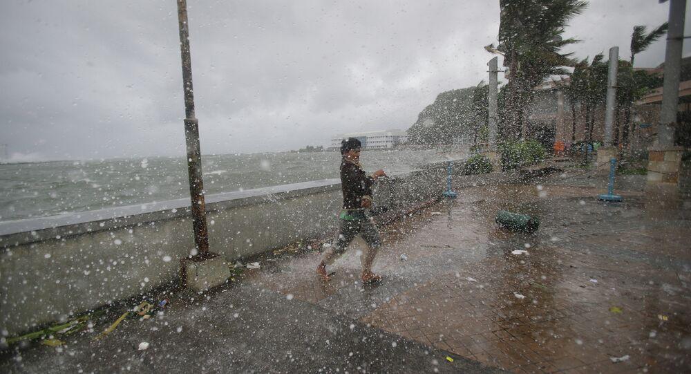 Tifone in Filippine in 2014