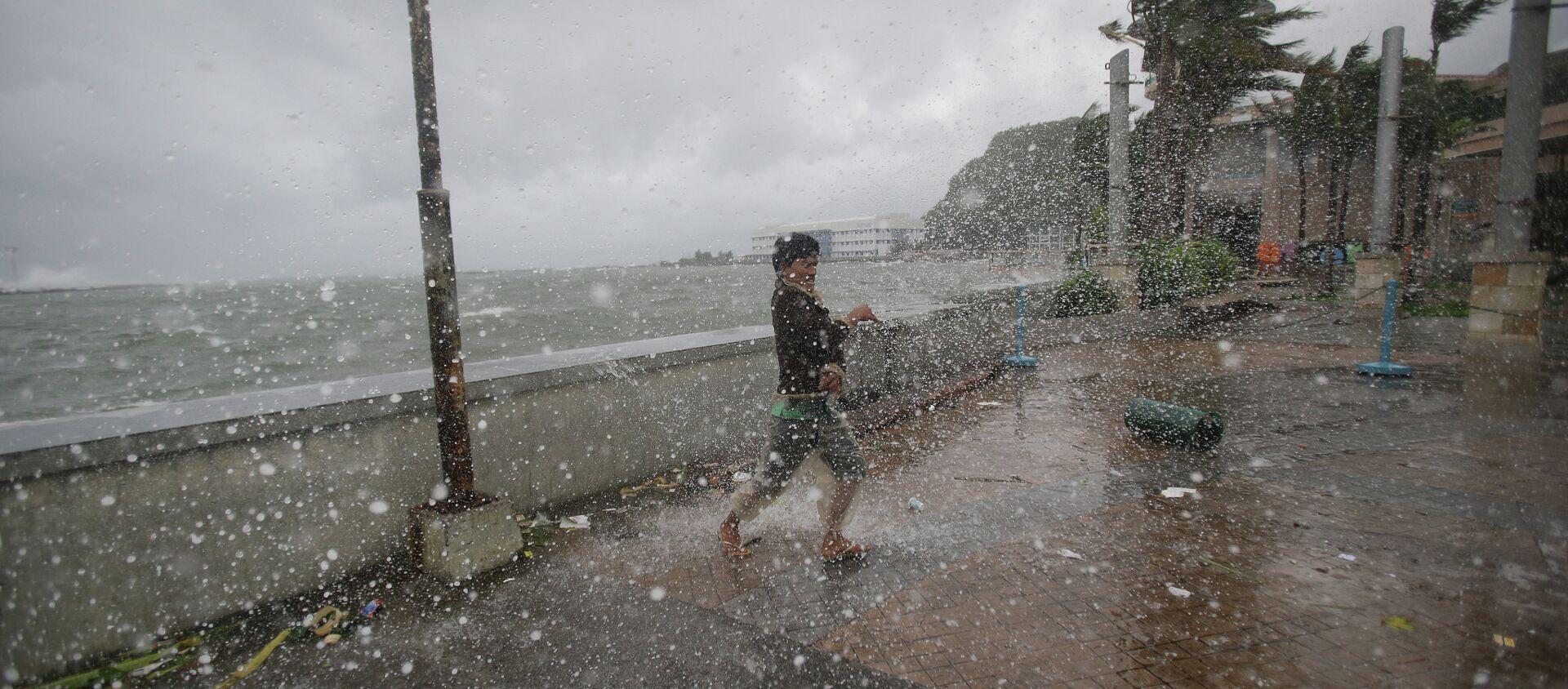 Tifone alle Filippine  - Sputnik Italia, 1920, 01.11.2020
