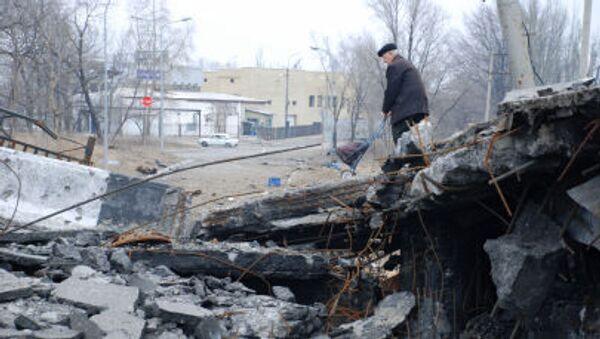 Donetsk distruzione - Sputnik Italia