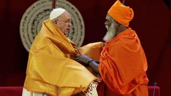 Papa Francesco a Colombo (foto d'archivio) - Sputnik Italia