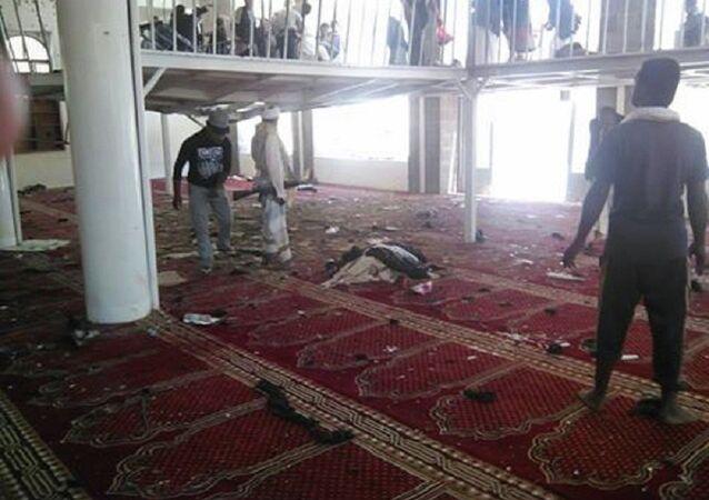 Yemen, moschea sciita