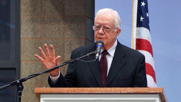 Ex presidente USA Jimmy Carter - Sputnik Italia