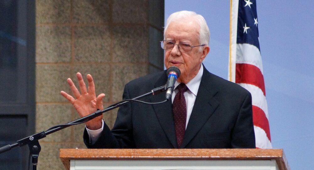 Ex presidente USA Jimmy Carter