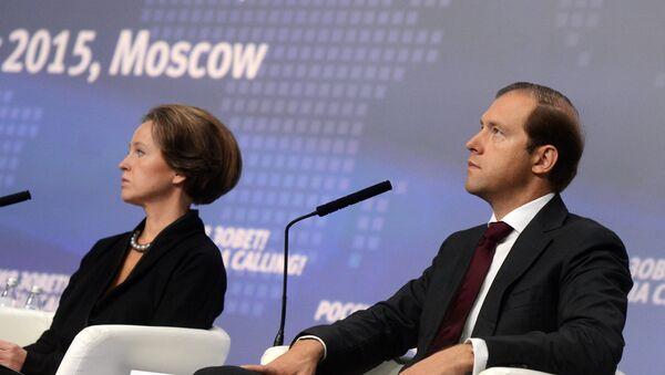 Il ministro dell'Industria russo Denis Manturov - Sputnik Italia