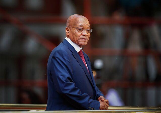 Il presidente sudafricano Jacob Zuma