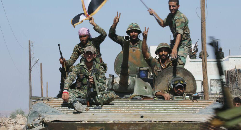 Esercito di Assad (foto d'archivio)