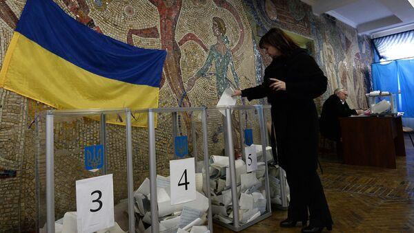 Elezioni amministrative in Ucraina - Sputnik Italia