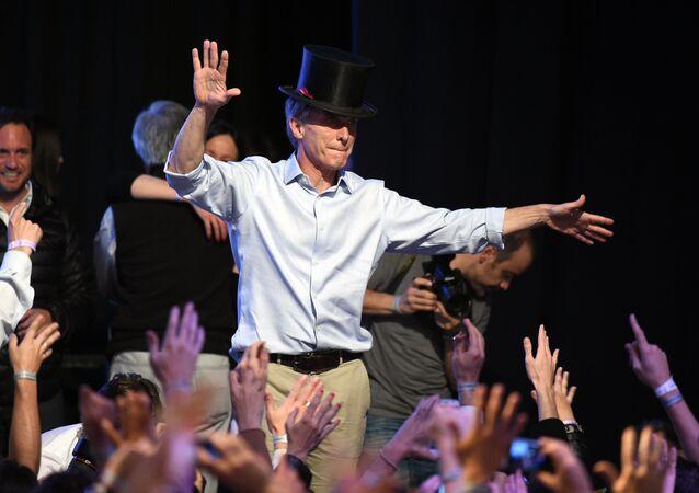 Mauricio Macri, candidato presidenziale in Argentina
