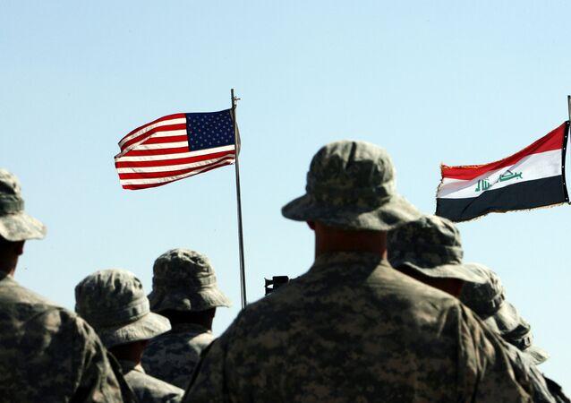 Le truppe USA e quelle irachene insieme