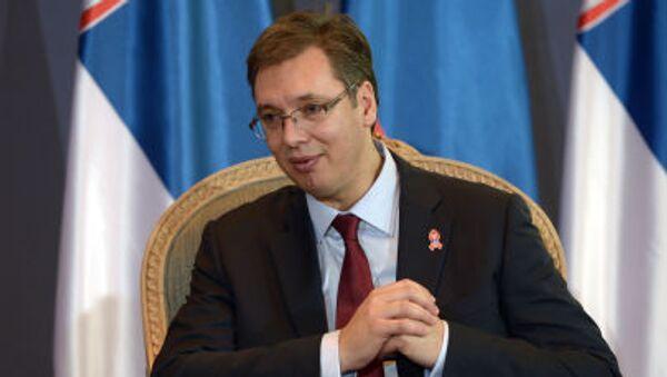Председатель правительства Республики Сербия Александр Вучич - Sputnik Italia